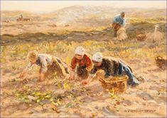 Dutch painter Jan Zoetelief Tromp (1872-1947)