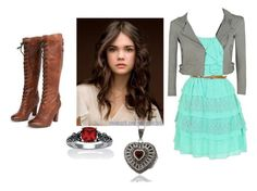 """""""date"""" by alikat666 on Polyvore featuring Palm Beach Jewelry, Dolce Giavonna and IRO"""