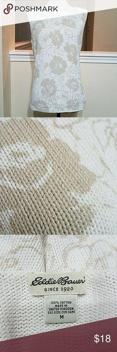 Eddie Bauer Sleeveless casual sweater Eddie Bauer Tops
