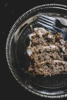 Hummingbird Cake with a Goat Cheese & Chamomile Tea frosting | TermiNatetor Kitchen