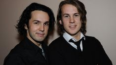 Bård and Vegard Ylvisåker -- better known as the hilarious Norwegian duo #YLVIS.