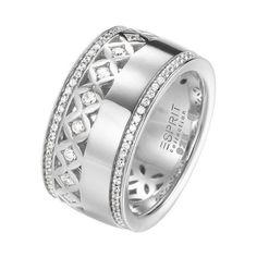 Silberner Damenring Thyia von ESPRIT