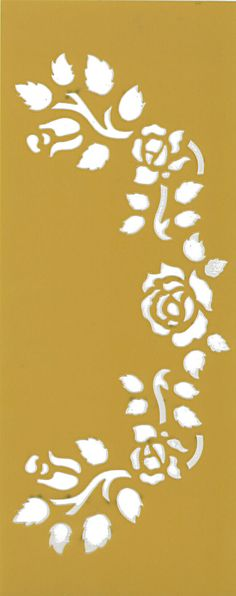 La plantilla plantilla flexible serie de flores rosas por Sdwstore