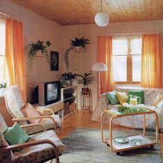 Home decorated with a rug from ANKI. This dates back to the very early nineties.