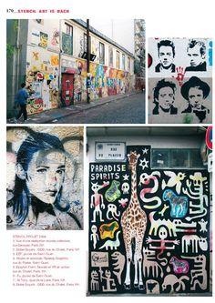 """Une page de """"Paris Pochoirs"""""""
