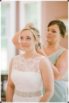 Augusta Jones Wedding Gown, Lace wedding gown, Bridal Up-do, NYC Wedding Photographers, New Haven Wedding, CT Wedding Photos