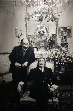 Salvador Dali & Ara Güler