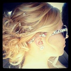 My hair from prom
