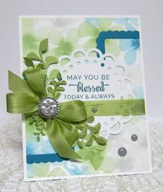 Be Blessed by cullenwr - Cards and Paper Crafts at Splitcoaststampers