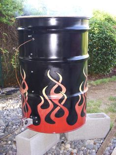 """Smokers can be anything from garbage cans to custom steel fabricated smokers costing $1,000.00 of dollars a drum smoker is just above the cost of a garbage can and will last for many years. This design is using an automatic temperature control device, if you want to build this smoker and do not wish to purchase an ATC system, drill four 1"""" holes spaced evenly around the base, 2"""" up from the bottom. Then fashion a cover over each hole so that you can control the draft. The drum smoker is easy…"""