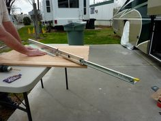 rv storage ideas | RV NOW with Jim Twamley: Build your own RV slide-out storage tray