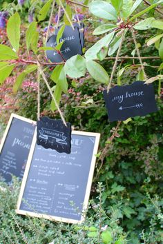 21st Birthday Party | party decor | chalkboard signs | typography