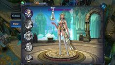 Goddess Heroes of Chaos is a Android F2P, 3D Action Role-Playing Multiplayer Game MMORPG.