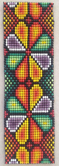 Bead Loom Patterns, Beading Patterns, Needle Case, Loom Bracelets, Loom Weaving, Native American Art, Fun Projects, Needlepoint, Seed Beads
