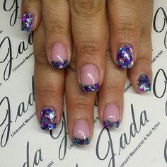 #nails #acrylicnails #nailart #manicure #nailsmagazine #nailsofinstagram #instanails #nailpromote #nailswag #nailstagram #nailshop #avalon #glitterheaven #dfwnailtech #dfwnails #customnailart #cute #shortnails #shortnailsclub #instanails #instagood #scra2ch @glitter_heaven_australia by jadaayala_nailartist