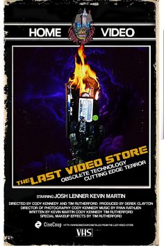 The Last Video Store, Movie Poster Option B, #Action vote at www.cinecoup.com