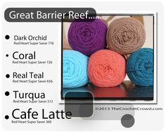Great Barrier Reef Trendy Color Mix