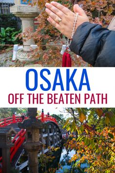 Get off the beaten path in Osaka and explore one of Japan's coolest cities! Here… Get off the beaten path in Osaka and explore one of Japan's coolest cities! Here are the best things to do in Osaka, from food to castles, temples and more! Japan Travel Guide, Asia Travel, Tokyo Travel, Nara, Osaka Japan Things To Do, Kyoto, Osaka Itinerary, Japan Beach, Couple Travel