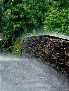 Raining sheets