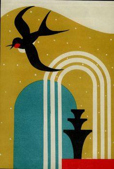 Japanese art deco poster deco graphics в 2019 г. art deco, a Retro Poster, Vintage Posters, Vintage Art, Vintage Style, Art Deco Illustration, Illustration Fashion, Kunstjournal Inspiration, Art Journal Inspiration, Art Nouveau