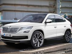 The Skoda will release the coupe SUV of the Kodiaq in 2017 or this new SUV will just for Chinese marcket! Porsche, Audi, Skoda Kodiaq, Skoda Superb, Vw Group, Bike Design, Car And Driver, Bmw Cars, Sexy Cars