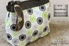DIY Handbag Makeover
