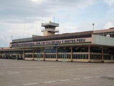 Aereopuerto de Iquitos- Selva peruana