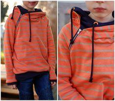 kayhuderfjaeril: Double-Hooded Sweatshirt
