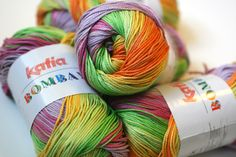 Katia Bombay - cotton for crochet or knit
