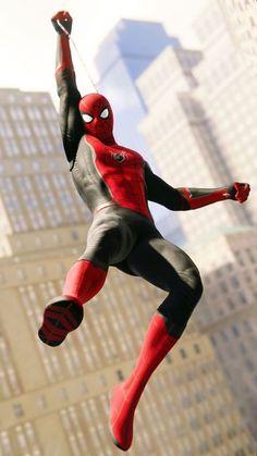 Spiderman wallpaper – My Company Comics Spiderman, Spiderman Suits, Marvel Comics Superheroes, Spiderman Movie, Spiderman Spider, Amazing Spiderman, Marvel Art, Marvel Heroes, Marvel Avengers