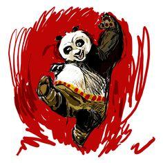 My Kung Fu Panda by Androstrb.deviantart.com on @deviantART