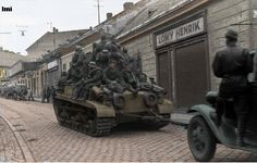 Hungarian Army Troops on Turan Tank 1944 World War 2 Reprint Photo Inch World History, World War Ii, Marine Corps Humor, Tank Armor, Austro Hungarian, Ww2 Tanks, Armored Vehicles, Armored Car, Panzer