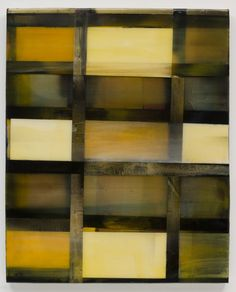 Stefan Annerel CORNWALL 2012 Acrylic paint, resin and glass on wood 106 x 86 cm