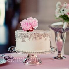 Costco Cakes Pink Black Silver Roses