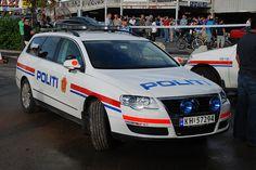 Norwegian police car