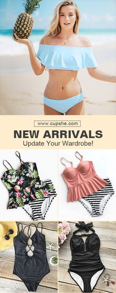 No worry about trending fashion, baby! Various adorable swimsuits will lead you as season changed. Enjoy your beach holiday with beauty and comfort. Now check them out on Cupshe.com !