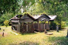 Christian Creek Indian grave houses - Okaloosa County, Florida 2000