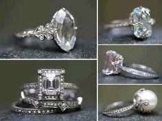 ahhhh what amazing vintage rings