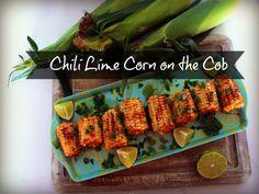 Chili lime corn on the cob
