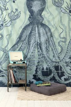 4040 Locust Octo-Sea Tapestry #urbanoutfitters