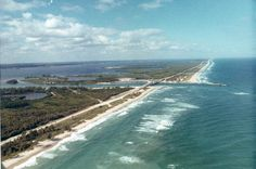 Aerial view looking towards Sebastian Inlet - Indian River County, Florida. Florida Girl, Florida Living, Indian River County, Vero Beach, Coastal Style, Aerial View, Most Beautiful Pictures, In The Heights, The Good Place