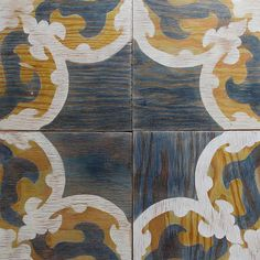 magnetic wooden tiles - made of marine plywood, each is hand dyed and painted in Brooklyn by Moonish Co.