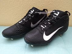 Nike Force Zoom Trout 5 AH3373-010 Metal Baseball Cleats  Brand new  Mens Size 13   Photo shown is actual shoes you will receive (without original box)  *ships with UPS ground w/ tracking #  Please check out my other cards & toys I have listed, thank you!