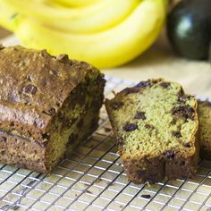 A virtually vegan avocado banana bread ready in less than an hour and made without using any dairy. Swap out the egg and it will be vegan. Avocado Banana Bread, Bread Bowls, How To Make Bread, Healthy Baking, Almond Flour, Sweet Recipes, A Food, Food Processor Recipes, Vegan