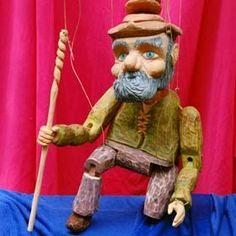 """Puppets from """"Puppet - Puppets from """"Puppets in Prague"""" workshops…"""