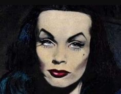 Maila Nurmi discusses her art. From the her final recorded interview by Mark Berry. All art by Maila Nurmi courtsey Sandra Niemi, Coffin Case Collection, Hax. Maila, Horror Comics, Vintage Horror, Creature Feature, Scary Movies, Comic Book Characters, One And Only, Art Music, Dark Art