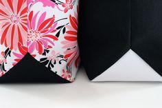 Fond de sac triangle Triangle Bag, Triangle Shape, Laetitia, Shapes, Boutique, Pattern, Cards, Couture Sac, Patterns