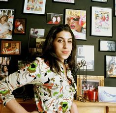 Amy Winehouse photographed at her home in Camden, London in 2004 by Mark Okoh