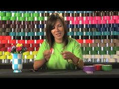 See all the latest Duck Tape craft videos and earn points toward exclusive prizes at the Duct Tape Rose, Duct Tape Flowers, Duct Tape Projects, Duck Tape Crafts, Make A Book Cover, Flower Pens, Flower Video, Tape Art, Craft Videos