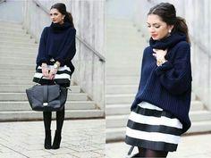 Street Fashion W black N white